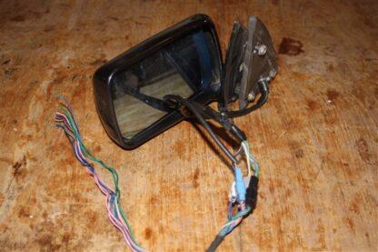 Lancia Kappa spiegel linksvoor elektrisch met alle aansluitingen intact in mooie staat zwart metallic