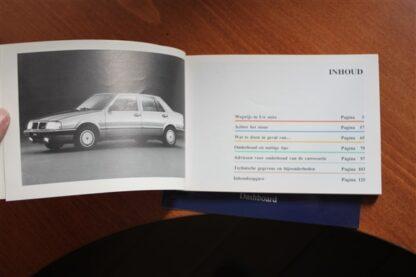 Lancia Thema serie 1 instructieboekje in nieuwstaat