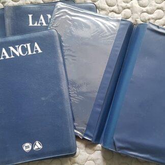 Lancia Thema insteekmapje voor instructie- en serviceboekjes