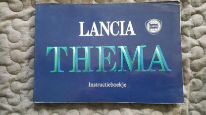 Lancia Thema instructieboekje serie 1 nette, gebruikte staat