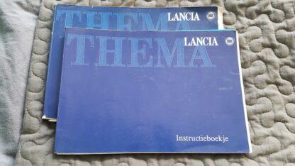 Lancia Thema instructieboekje serie 2 gebruikte staat