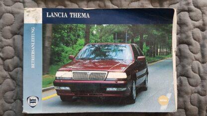 Lancia Thema instructieboekje serie 3 gebruikte staat
