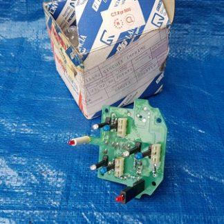 Lancia Y push control light unit lampjes voor achter de knopjes 71711482