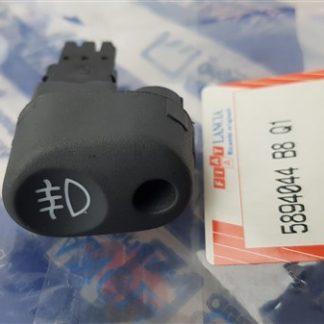Switch Rear Fog Light Knopje achter mistlicht Fiat Punto Original 5894044