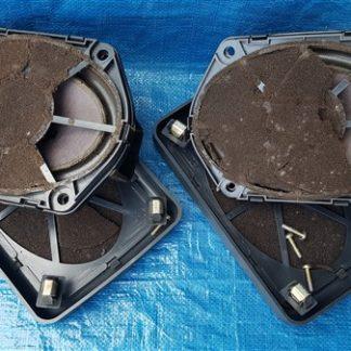 Lancia Thema LX speakerset hoedenplank beschadigd, conus speakers hebben gaten afdekkap intact 824869940