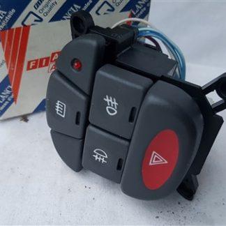 Escutcheon Buttons Lancia Y Ypsilon Bedieningspaneel 95 00 With Fendi Original Code 715503635